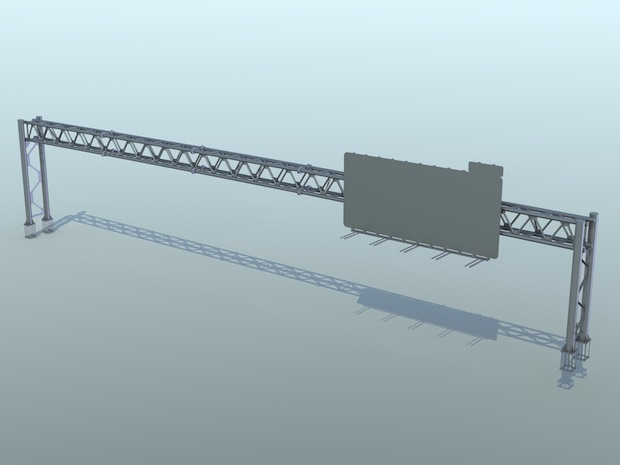 1537-03 - 200FT 4 Chord Overhung Truss (I-95)